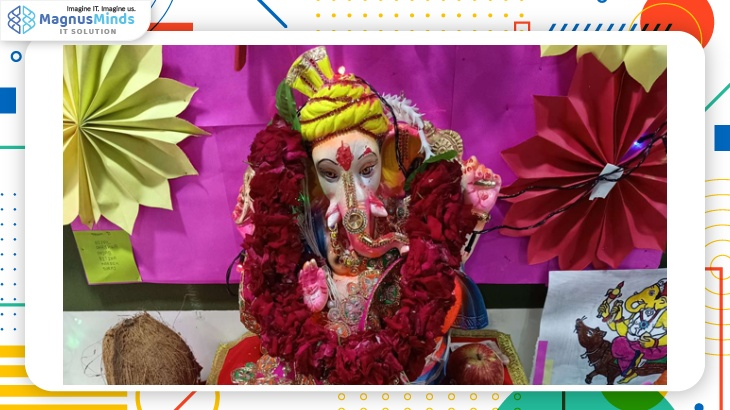 We adopted Eco-friendly Ganesha in 2019 @MagnusMinds